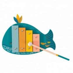 Xylophone baleine Le Voyage...