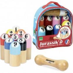 Jurassik' jeu de 9 quilles