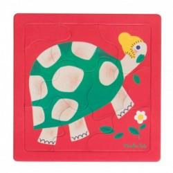Puzzle tortue (10 pièces)...
