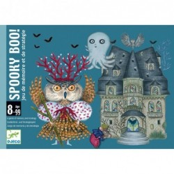 Jeu de cartes Spooky Boo